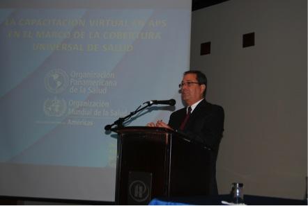 Desarrollo de capacidades para la renovación de la APS e implementación del Modelo Integral de Salud Familiar y Comunitaria en Ecuador.