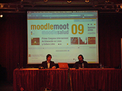 """Primer Congreso Internacional de Educación  en Línea y Cultura Libre """"MoodleMoot / MoodleSalud 09"""""""
